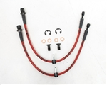 2013 2014 Scion FR-S / Subaru Front Steel Braided Brake Lines #AP-FRS-405 by Agency Power