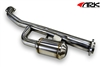 "2013 2014 Scion FR-S / Subaru BRZ 2.5"" R-Spec Resonated Test Pipe - Front Pipe #TP1202-0113 by ARK"