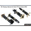 2013 Scion FR-S / Subaru BRZ Front and Rear Coilovers by BC Racing