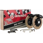 2013 Scion FR-S / Subaru GT (Gran Tourismo) 345mm Front Brake Kit (Slotted / Cross Drilled) #1P1.8002A / #1P2.8002A by Brembo