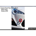 2013 Scion FR-S / Subaru BRZ Front Tow Hook (Red) #687 017 F by Cusco