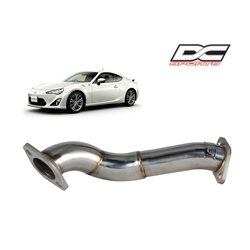 2013 Scion FR-S / Subaru BRZ Stainless Steel Overpipe #SOP7049 by DC Sports