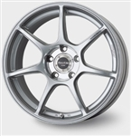 2013 Scion FR-S / Subaru BRZ RS+M 17x8 Silver Wheels (5x100, 35mm offset) #397-780-8035SP by Enkei
