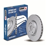 2013 Scion FR-S / Subaru BRZ Front Quiet Slot Rotor #HUS732 by Hawk Performance