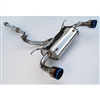 2013 Scion FR-S / Subaru BRZ Q300 Stainless Steel Catback Exhaust #HS12SSTG3 by Invidia