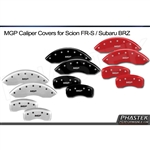 2013 Scion FR-S / Subaru BRZ Brake Caliper Covers (Various Styles to Choose From) - Set of 4 by MGP