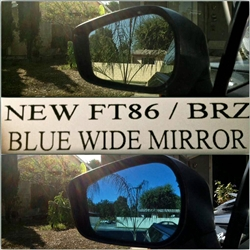 2013 Scion FR-S / Subaru BRZ Wide Angle Mirror Lenses (full replacement) by Rexpeed