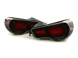 2013 Scion FRS / Subaru BRZ LED Tail Lights with Clear Lenses by TOM'S