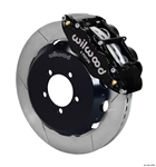 2013 Scion FR-S / Subaru W6A Big Brake Front Brake Kit (6 piston, slotted, black calipers) #140-12870 by Wilwood