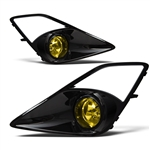Scion FR-S WinJet Fog Light Kit Glossy Black & Yellow