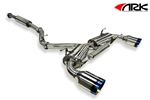 2013 2014 Scion FR-S / Subaru BRZ DT-S Catback Exhaust System w/ Burnt Tips #SM1202-0213D by ARK Performance