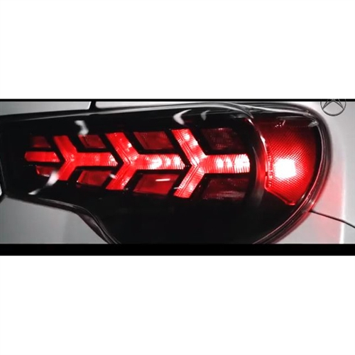 scion frs subaru brz led tail lights by buddy club for. Black Bedroom Furniture Sets. Home Design Ideas