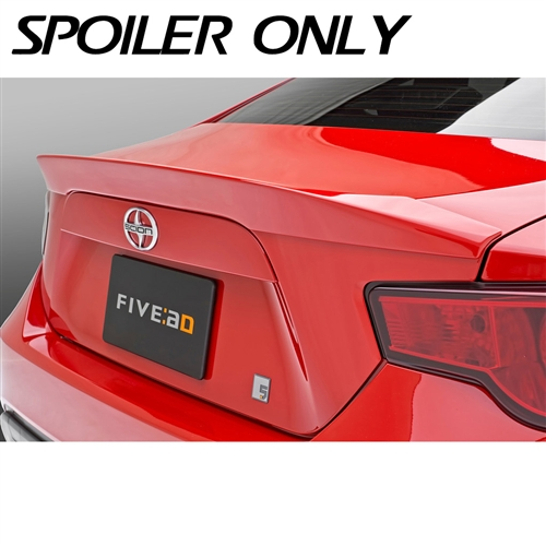 Scion Fr S Subaru Brz Rear Lip Spoiler By Five Axis For Years 2013 2014