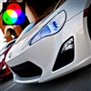 2013 Scion FR-S Phastek RGB ColorSHIFT Halo Headlight Kit (All Colors) by Oracle