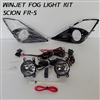 Complete Fog Light Kit by Winjet for 2013, 2014 Scion FR-S